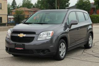 Used 2012 Chevrolet Orlando LS 7 Passengers | CERTIFIED for sale in Waterloo, ON