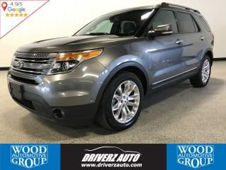 Used 2012 Ford Explorer Limited LIMITED FULLY LOADED, REAR BLURAY ENTERTAINMENT, POWER FOLDING 3RD ROW for sale in Calgary, AB
