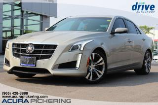 Used 2014 Cadillac CTS 3.6L Twin Turbo Vsport Navigation|Parking Distance Sensors|Rearview Camera for sale in Pickering, ON