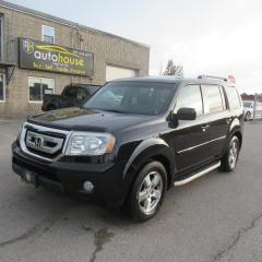 Used 2011 Honda Pilot EX-L, 4WD, LEATHER, SUNROOF, THIRD ROW SEATING, 8 PASSENGERS for sale in Newmarket, ON