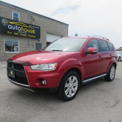 Used 2010 Mitsubishi Outlander XLS,LEATHER, SUNROOF, AWD, 4WD, THIRD ROW SEATS, 7 PASSENGERS for sale in Newmarket, ON