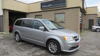 Used 2015 Dodge Grand Caravan SE/SXT Blk leather interior, Dual Air & Windows, Full Stow n Go for sale in Kingston, ON