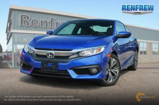 Used 2018 Honda Civic 2018 Honda Civic EX Turbo coupe for sale in Renfrew, ON