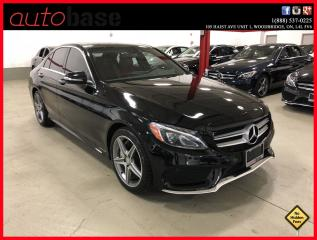 Used 2015 Mercedes-Benz C-Class C300 4MATIC PREMIUM PLUS SPORT RED INT! for sale in Woodbridge, ON