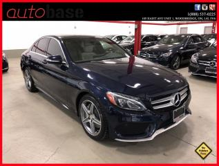 Used 2015 Mercedes-Benz C-Class C300 4MATIC PREMIUM SPORT CLEAN CARPROOF for sale in Woodbridge, ON