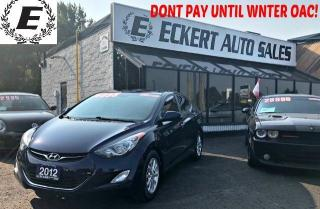 Used 2012 Hyundai Elantra GLS MANUAL WITH BLUETOOTH for sale in Barrie, ON