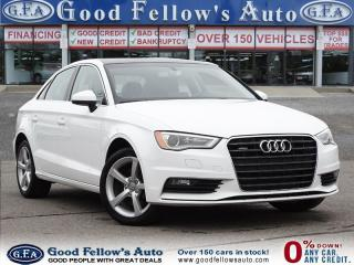 Used 2016 Audi A3 2.0 LITER TURBO, QUATTRO, LEATHER SEATS, SUNROOF for sale in North York, ON