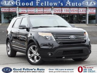 Used 2015 Ford Explorer LIMITED MODEL, 7 PASSENGER, AWD, LEATHER SEATS for sale in Toronto, ON