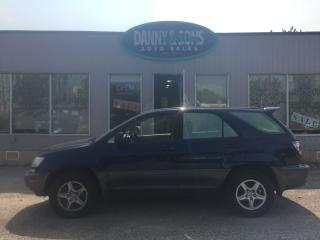 Used 2001 Lexus RX 300 LUXURY for sale in Mississauga, ON