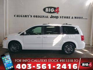 Used 2017 Dodge Grand Caravan Premium Plus | Stow'n Go | Pwr Sliders for sale in Calgary, AB