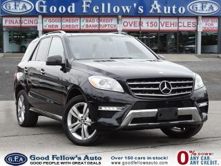 Used 2015 Mercedes-Benz ML 350 DIESEL, 4MATIC, LEATHER SEATS, PANORAMIC ROOF, NAV for sale in North York, ON
