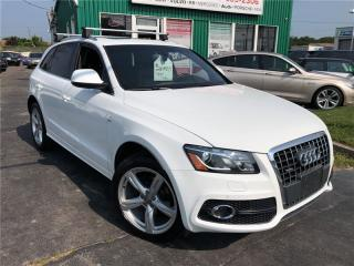 Used 2012 Audi Q5 2.0L Premium Plus Prestige for sale in Burlington, ON