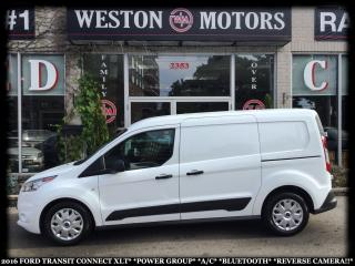 Used 2016 Ford Transit Connect XLT*POWER GROUP*A/C*BTOOTH*REVERSE CAMERA!!* for sale in Toronto, ON