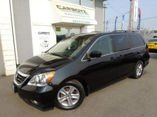 Used 2010 Honda Odyssey Touring, Nav, DVD, Sunroof, Leather, Rev. Camera for sale in Langley, BC