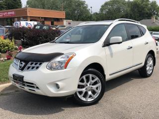 Used 2012 Nissan Rogue SL-AWD-LEATHER-ROOF-CAMERA-LOADED for sale in Mississauga, ON