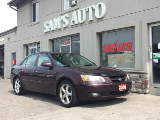 Used 2006 Hyundai Sonata GLS PREMIUM for sale in Hamilton, ON