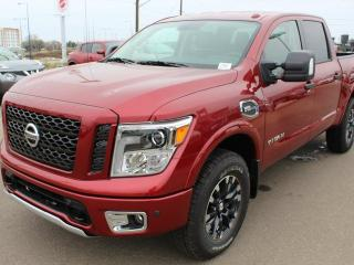 New 2018 Nissan Titan PRO-4X 4x4 Crew Cab 139.8 in. WB for sale in Edmonton, AB