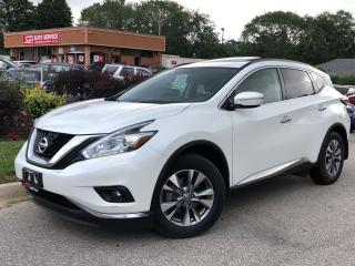 Used 2015 Nissan Murano SV-AWD-NAVI-PANO-CAM-NO ACCIDENTS-38KMS for sale in Mississauga, ON