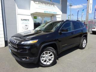 Used 2014 Jeep Cherokee North 4x4, Leather, Pano Roof, Heated Seats for sale in Langley, BC