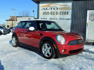 Used 2008 MINI Cooper ***CUIR,MAGS,AUTOMATIQUE*** for sale in Longueuil, QC