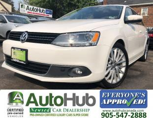 Used 2012 Volkswagen Jetta HIGHLINE-2.0T TDI-SUNROOF-NAV-LEATHER-HTD SEATS for sale in Hamilton, ON