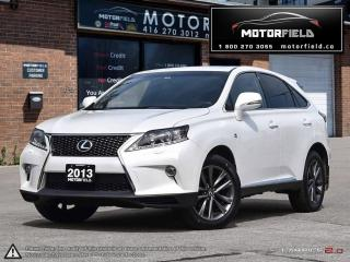 Used 2013 Lexus RX 350 F Sport *ACCIDENT FREE, NAVI, HUD, 89KM* for sale in Toronto, ON