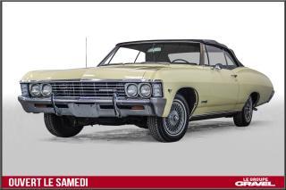 Used 1967 Chevrolet Impala Ss Décapotable for sale in Montréal, QC