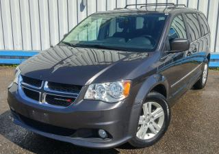 Used 2017 Dodge Grand Caravan CREW *STOW N GO* for sale in Kitchener, ON