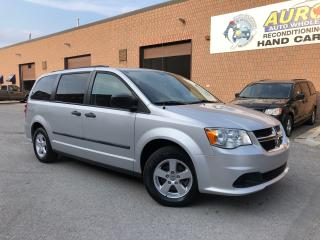 Used 2012 Dodge Grand Caravan SE  - 42,000KM - REAR STOW N'GO for sale in Aurora, ON