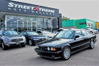 Used 1991 BMW M5 Low KMs | SAFETY CERTIFIED | A/C | Accident Free for sale in Markham, ON