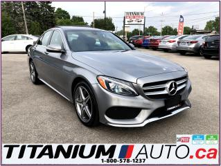 Used 2015 Mercedes-Benz C-Class AMG PKG-4 Matic-Camera-GPS-Pano Roof-New Tires- for sale in London, ON