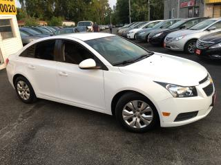 Used 2013 Chevrolet Cruze LT/ AUTO/ REVERSE CAM/ POWER GROUP/ LOADED! for sale in Scarborough, ON
