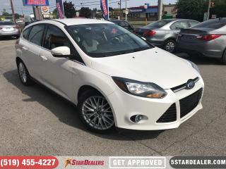 Used 2013 Ford Focus Titanium | LEATHER | CAM | HEATED SEATS for sale in London, ON