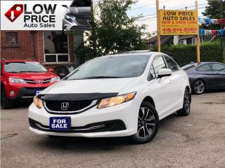 Used 2015 Honda Civic EX*Sunroof*Camera*Auto*AllPwr*HondaWarr* for sale in York, ON