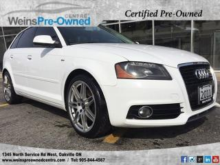 Used 2011 Audi A3 2.0T Premium l Panoroof l Htd Seats l 18Wheels l for sale in Oakville, ON