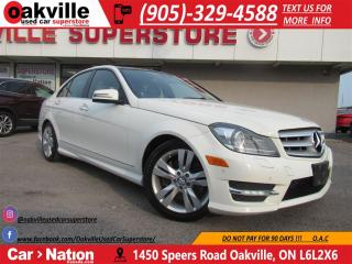Used 2012 Mercedes-Benz C-Class C300 4MATIC | B\U CAM | HEATED SEATS | NAV | for sale in Oakville, ON