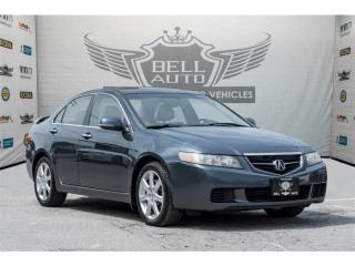 Used 2005 Acura TSX SUNROOF LEATHER INTERIOR TRACTION CONTROL ALLOY WH for sale in North York, ON