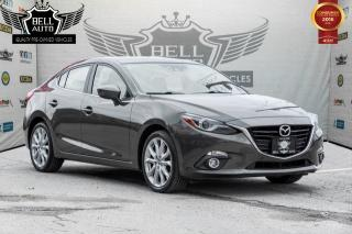 Used 2014 Mazda MAZDA3 GT-SKY NAVIGATION SUNROOF LEATHER BACK-UP CAMERA for sale in Toronto, ON