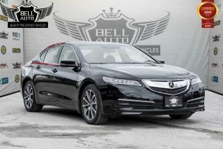 Used 2015 Acura TLX TECH PACKAGE NAVI SUNROOF LEATHER BACK-UP CAMERA for sale in Toronto, ON