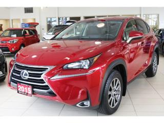 Used 2015 Lexus NX 200t REARVIEW CAMERA/PUSH START for sale in Waterloo, ON