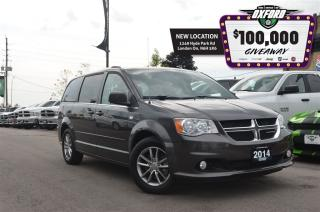 Used 2014 Dodge Grand Caravan SXT - 30th anniversary, Pwr Doors, Bluetooth, Sat for sale in London, ON