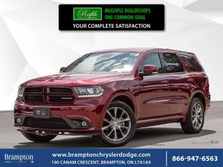 Used 2017 Dodge Durango GT | EX CHRYSLER COMPANY DEMO | for sale in Brampton, ON