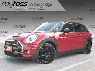 Used 2016 MINI Cooper Clubman Cooper S LEATHER, SUNROOF for sale in Woodbridge, ON