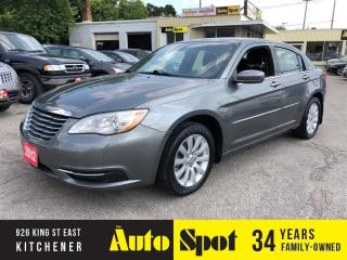 Used 2012 Chrysler 200 LX/ONLY 37, 000 KMS/PRICED-QUICK SALE ! for sale in Kitchener, ON