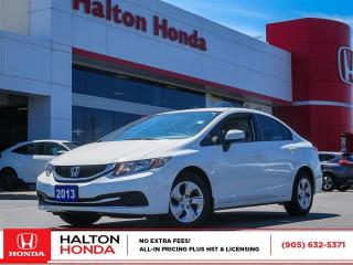 Used 2013 Honda Civic LX for sale in Burlington, ON