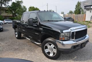 Used 2002 Ford F-350 Super Duty SRW Lariat, 7.3 litre diesel, 4WD for sale in Hornby, ON