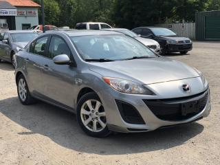 Used 2010 Mazda MAZDA3 No-Accidents GS Sunroof Bluetooth Power Group for sale in Newmarket, ON
