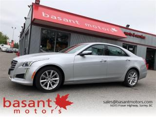 Used 2017 Cadillac CTS 2.0T, Backup Cam, Heated Seats, Remote Start, Leat for sale in Surrey, BC