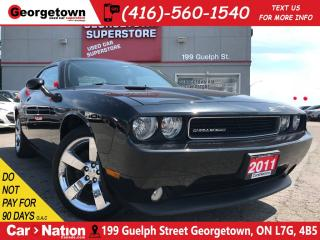 Used 2011 Dodge Challenger SXT | LEATHER | HEATED SEATS | MOPAR SHIFT for sale in Georgetown, ON