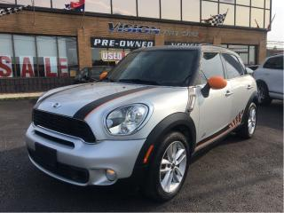 Used 2014 MINI Cooper Countryman S Cooper S / NAVIGATION / AWD for sale in North York, ON